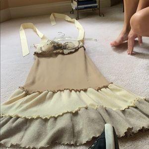 Dresses & Skirts - Handmade  cashmere dresssi size 2